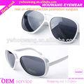 alibaba aliexpress ebay venta caliente popular modelo grande 9827 uv marco de gafas de sol 400