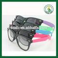 2014 clásico modelo personalizado de plástico gafas de sol