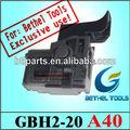 Peças de reposição para ferramenta bosch interruptor de gatilho para gbh 2-20 si martelo rotativo