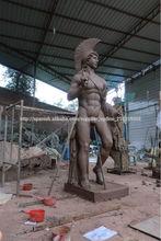 VDG756 Vida escultura de tamaño de fibra de vidrio grandes esculturas al aire libre