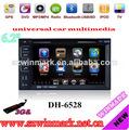 DH6528 6.2inch y el doble de multimedias del coche del dinar para los modelos universales