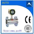 De la turbina de flujo fabricante de medidor/líquido medidor de flujo con bajo precio hecho en china