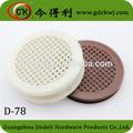 plástico de rejillas de ventilación para los muebles
