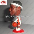 personalizado de plástico de baloncesto jugador de la figura