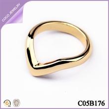 de nuevo modelo anillos de oro de diseño para mujeres