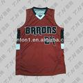 sublimada del baloncesto europeo diseño de uniformes