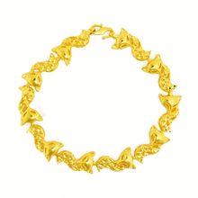 14k india brazaletes de oro brazaletes de oro fino nuevo diseño de pulseras de oro