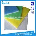 buena calidad de fibra de vidrio de filtro hepa filtro de aire de papel