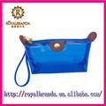 customed de moda bonito pvc cosméticos bolso de la cremallera