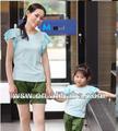 2014 nueva llegada de verano lindo de algodón verde/chico de color rosa liquidación ropa ropa de los niños