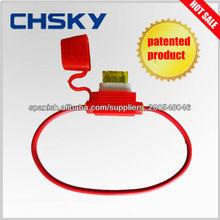 producto patentado min, mid, maxi fusibles encajan con precisión nuevos de caucho + cerámica portafusible FH-1