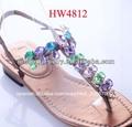partes de zapatos t correa de diamantes de imitación accesorios de calzado