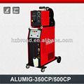 De aluminio de pulso soldador mig alumig- 350cp/500cp