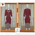 Enviar dinero en efectivo $300 cupones de china fabricante de largo de guangdong laple womans vestidos 2013 dq60#