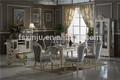 Home móveis/vidro armário do vinho/biger madeira sólida aparador/retângulo mesa de jantar com 6 cadeiras de jantar cz101