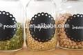 decorativos pizarra calcomanía para la cocina de pared de pizarra etiqueta