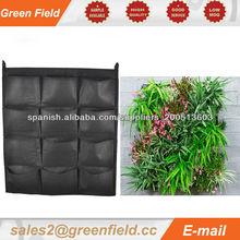 Plantador de la pared verde, jardín vertical pared verde plantador