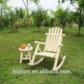 de madera al aire libre para adultos mecedoras