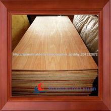 Hojas de madera contrachapada con mejor precio en China