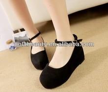 las mujeres 2014 zapatos de estilo más calientes de cuñas de zapatos de china pc2785