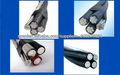 AAAC Conductor Duplex Triplex Quadruplex servicio descenso Cable