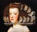 Pinturas de la reproducción de las mujeres hermosas por el famoso artista Velázquez