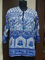 elephant print blouse