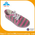 china mejor precio niñas casual zapatos de lona