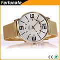 nuevos productos de china para la venta de oro puro reloj