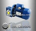 140 rpm vitesse de sortie motovario motoréducteur à angle droit type worm nmrv- 050 teco 0.55kw avec moteur à courant alternatif