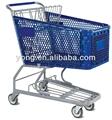 plegable carro de supermercado de compras de la carretilla