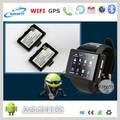 Fábrica 2,0 pantalla táctil completa Mejor WIFI reloj de pulsera teléfono celular reloj teléfono GSM