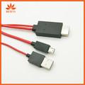 Micro HDMI macho a Cable adaptador macho del convertidor del Hdmi