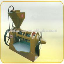 125kg/h semi- automatico en frío pequeñas& caliente tornillo prensa de aceite