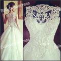 2013 simples laço de pescoço laço laço de cristal mangas do vestido de casamento vestido de casamento vestido de de noiva