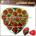 Venta al por mayor del corazón de chocolate compuesto( 120g)