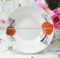 placa de louça, prato de porcelana, prato de cerâmica