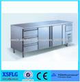XSFLG Comptoir réfrigéré de travail avec tiroirs