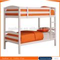 los niños blanco de madera maciza cama litera