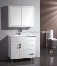 comercial del euro estilo de mdf vanidad cuarto de baño con espejo 0092