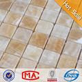 caliente de la venta del azulejo del mosaico del piso elegante tipos azulejos de color beige de mármol del mosaico