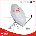 Banda Ku Antena Parabólica 90cm