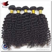La parte superior 5a 100% calidad malasia profundo rizado cabello virgen