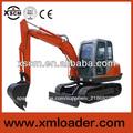 Xscm st608l 6 toneladas de doble- de conducción mini excavadora usados de bajo precio