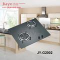 Nuevo diseño de la construcción- en 2 quemador de cocina estufa de gas JY-G2002/cubierta de vidrio templado