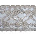 16-20 cm de nylon con spandex elástico needle lace para lencería