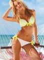 2014 venda quente jovem sexy biquíni swimwear com flor