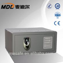 Joyería 2014/seguridad pequeña huella digital caja de seguridad