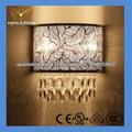 lámpara de pared de cristal