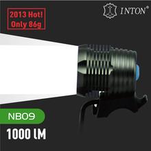 Nuevo 2014!! De alta- potencia u2 cree led luces de la bicicleta recargable